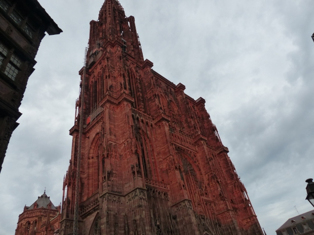 Die Kathedrale Notre Dame in Strasbourg