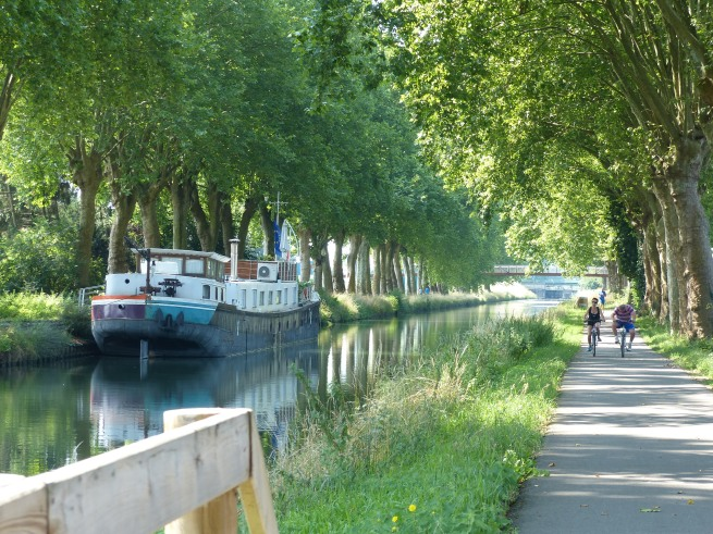 In Strasbourg beginnt der Canal du Rhône au Rhine