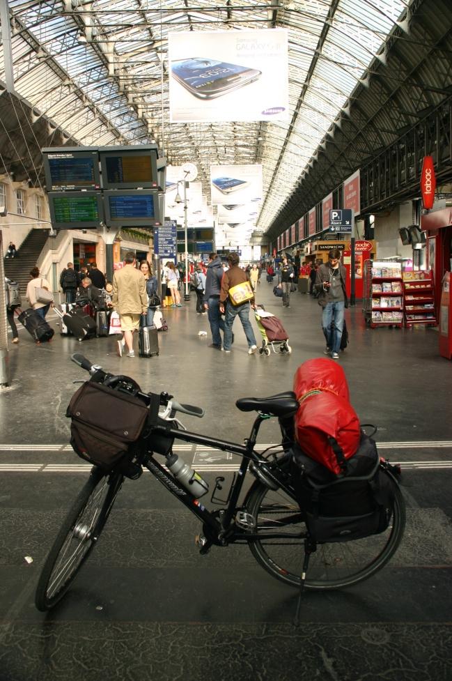Gare de l'est Paris 2012