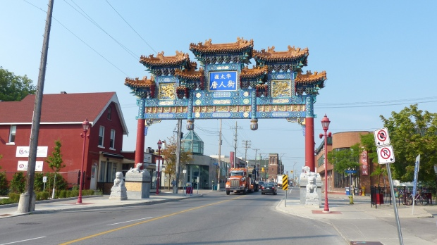 Eine Chinatown gibt es auch