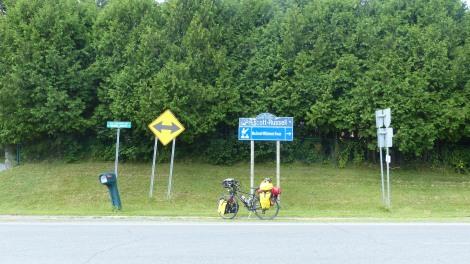 Die Ostkante von Ontario. Good bye!