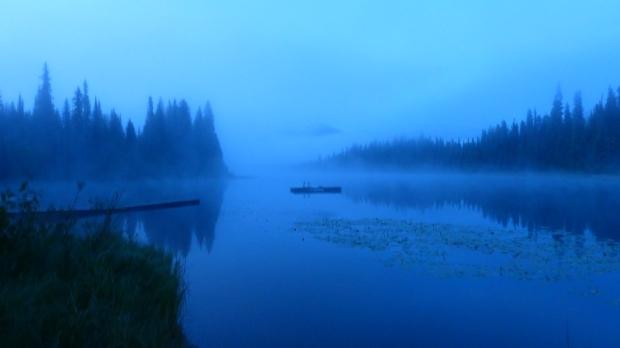 Mogenstimmung am Lasalle Lake