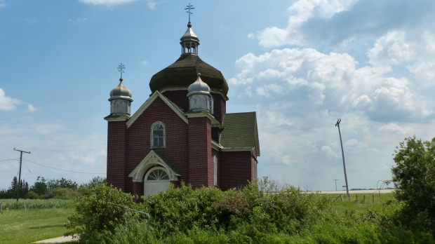 Hier wäre schon mal eine ukrainische Kirche...