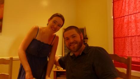 Judith und David, meine Gastgeber