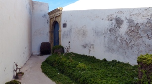 """Eingang zum """"christlichen"""" Friedhof"""